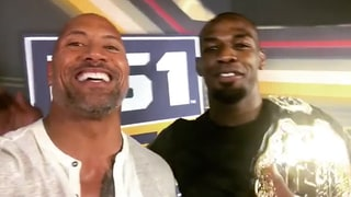 UFC Champ Jon Jones on 'Unbelievable' First Meeting With Dwayne 'The Rock' Johnson