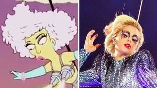 That Time 'The Simpsons' Predicted Lady Gaga's Super Bowl Performance in a 2012 Episode