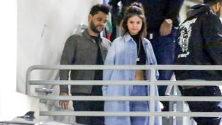Selena Gomez and The Weeknd Hold Hands After Date Night at Dave & Buster's — See the Pics