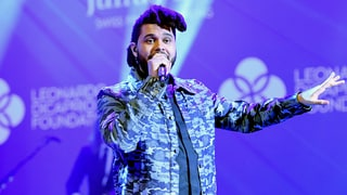 The Weeknd Brought Down the House at Leonardo DiCaprio's Foundation Gala