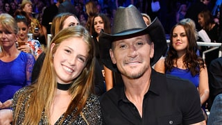 Tim McGraw Brings His Gorgeous Daughter Maggie, 17, to the CMT Music Awards 2016: Photos