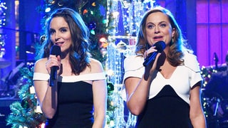 Tina Fey, Amy Poehler Wear Matching Outfits on SNL, Delight Everyone