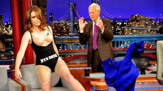 Tina Fey, David Letterman
