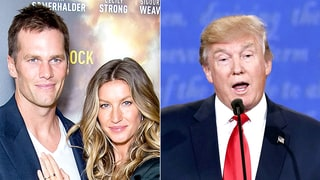 Gisele Bundchen Says She and Tom Brady Don't Support Donald Trump