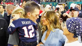 Tom Brady and Gisele Bundchen Return to Boston After Patriots' Super Bowl Win