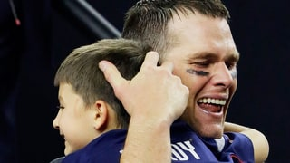 Tom Brady Breaks Down in Tears as He Hugs His Family and Sick Mom After Epic Super Bowl Win