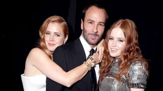 Amy Adams, Tom Ford and Ellie Bamber