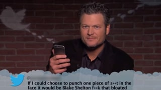 Blake Shelton, Meghan Trainor, Drake Read Music-Themed Mean Tweets in Honor of Grammys 2016