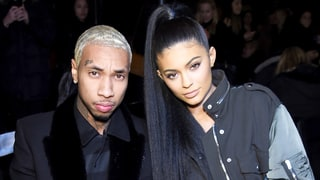 Kylie Jenner Kisses On-Again Boyfriend Tyga in New Pic as He Moves Into Her House