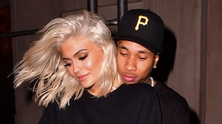 Kylie Jenner Gifts Tyga a 60-Carat Diamond Bracelet for His Birthday