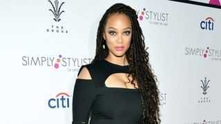 Tyra Banks Makes First Post-Baby Red Carpet Debut With New Dreadlocks