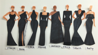 All the Details on the Custom Bridesmaid Dresses at Ciara's Wedding