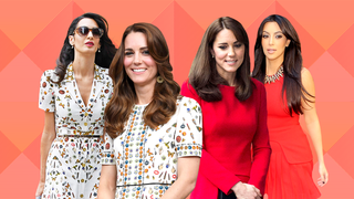 7 Times Celebrities Have Worn the Same Outfit as Duchess Kate