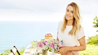 Lauren Conrad Shows Us How to Decorate a Bridal Shower Table: Watch!