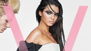 Kendall Jenner Rocks a Giant Snake Tattoo on Her Upper Thigh for 'V' Magazine