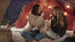 'High School Musical' Stars Ashley Tisdale and Vanessa Hudgens Perform Their First Ever Duet