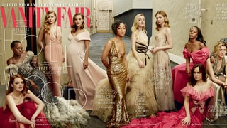 Vanity Fair's 2017 Hollywood Issue Cover Exudes Glamour With Emma Stone, Pregnant Natalie Portman, More Stars