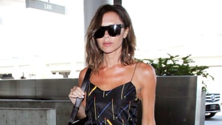 Victoria Beckham Glows in Boldly Printed Separates