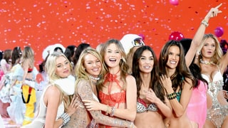 Go Backstage With Angels Lily Aldridge and Behati Prinsloo at the Victoria's Secret Fashion Show 2015