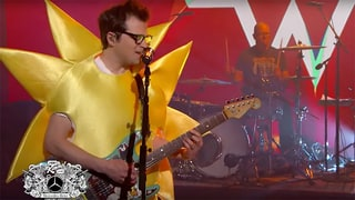 Watch Weezer's Goofy Live Debut of New Song 'Feels Like Summer'