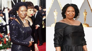 Whoopi Goldberg Wears Retro Ball Gown for Oscars 2016: Compare It to Her First Oscar Look in 1991!