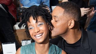 Willow and Will Smith Have a Sweet Daddy-Daughter Date at the Chanel Couture Show
