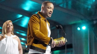 Will Smith Jokes About Introducing Himself as 'the Karate Kid's Dad' as He Takes the Stage at MTV Movie Awards 2016