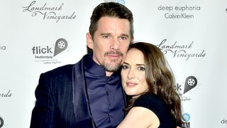 Winona Ryder and Ethan Hawke Hug it Out At the Gotham Awards in NYC