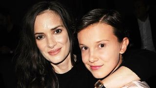 Winona Ryder and Millie Bobby Brown (a.k.a. Eleven!) Reunite at NYFW