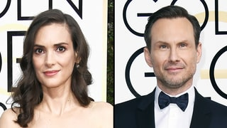 Winona Ryder Gushes Over 'Heathers' Costar Christian Slater at Golden Globes 2017: 'I Love Him So Much'
