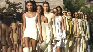 Models Struggle With Their Heels During Yeezy Season 4 — Watch Them Wobble, Ditch Their Shoes