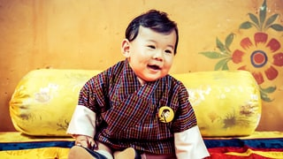 Adorable Baby Prince of Bhutan Featured in Royal Calendar