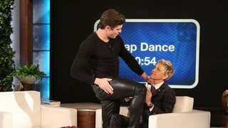 Zac Efron Twerks, Gives Ellen DeGeneres a Lap Dance During Game of Heads Up: Watch!