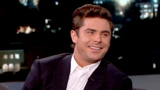 Zac Efron Turns Beet Red While Watching His 'You're a Good Man, Charlie Brown' School Show