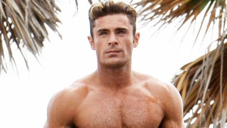 Zac Efron Got Ripped for 'Baywatch: He 'Doesn't Want to Look Tiny Next to The Rock'