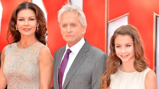 Catherine Zeta-Jones' 13-Year-Old Daughter Carys Is the Spitting Image of Her Mom