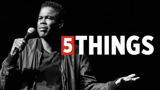 Five Things We Learned Hanging Out With Chris Rock