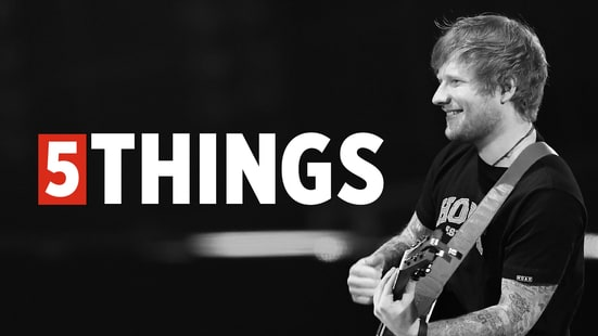 Five Things We Learned Hanging Out With Ed Sheeran