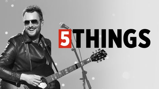 Five Things We Learned Hanging Out With Eric Church