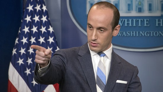 Watch Stephen Miller's Heated Exchange with CNN's Jim Acosta During White House Press Briefing