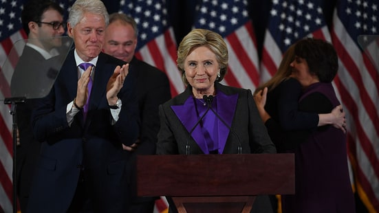 Watch Hillary Clinton's Heartfelt Presidential Concession Speech