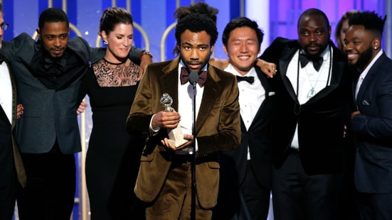Image result for LA LA LAND GOLDEN GLOBES