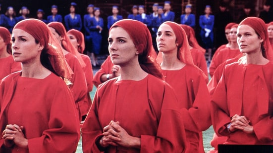 the handmaids tale as a dystopian Based on margaret atwood's dystopian novel, the handmaid's tale presents a harrowing vision of (as the film's opening legend reads) the very near future.