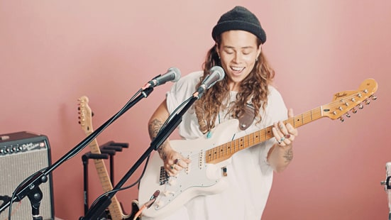 Watch Tash Sultana's Hypnotic Live Set