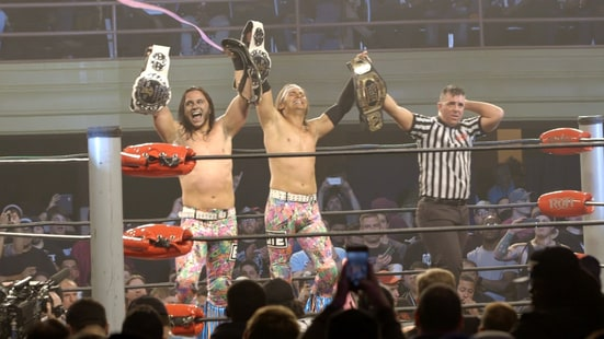 Watch the Young Bucks' Super-Kick Party