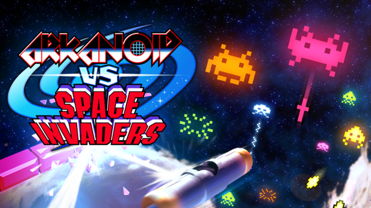 'Arkanoid vs Space Invaders' Mashes Arcade Classics Together