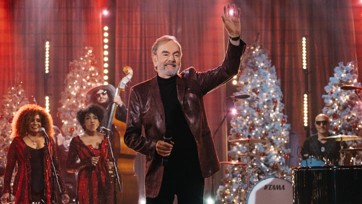 Watch Neil Diamond, James Corden's Raunchy Christmas Duet