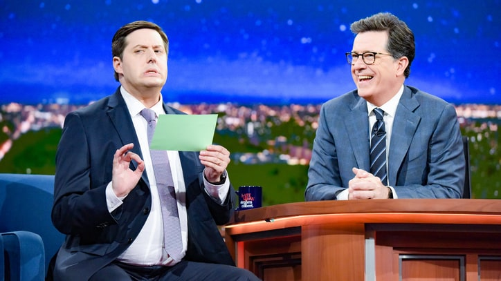 Watch Anthony Atamanuik Compare Trump to Annoying Lap Dog on 'Colbert'