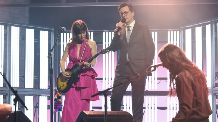 Watch Feist Recruit Stephen Colbert for Eerie Spoken Word on 'Century'