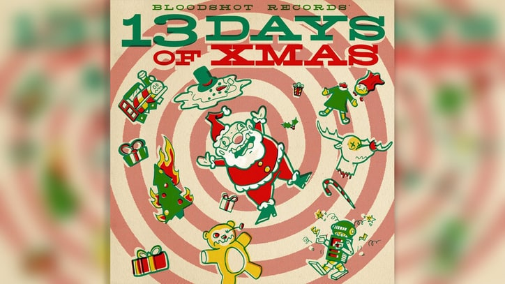 Inside Bloodshot Records' Wacky Holiday Compilation '13 Days of Xmas'